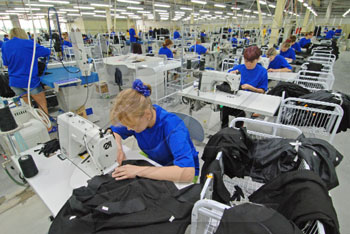 Отрасли и предприятия легкой промышленности в России